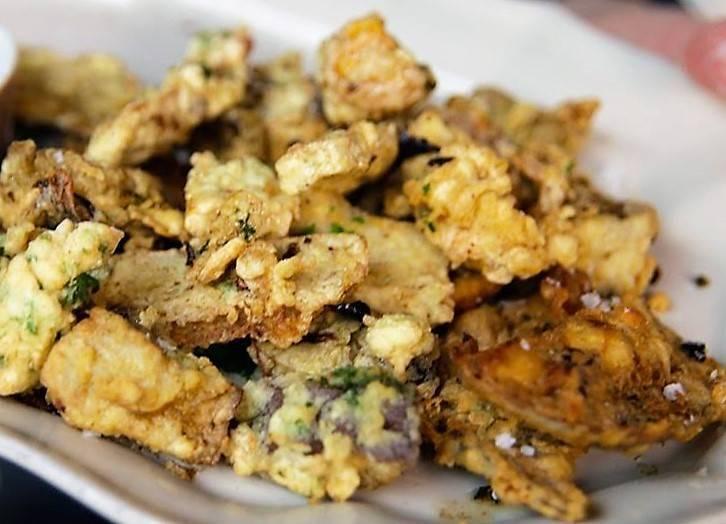 Funghi porcini fritti alla toscana