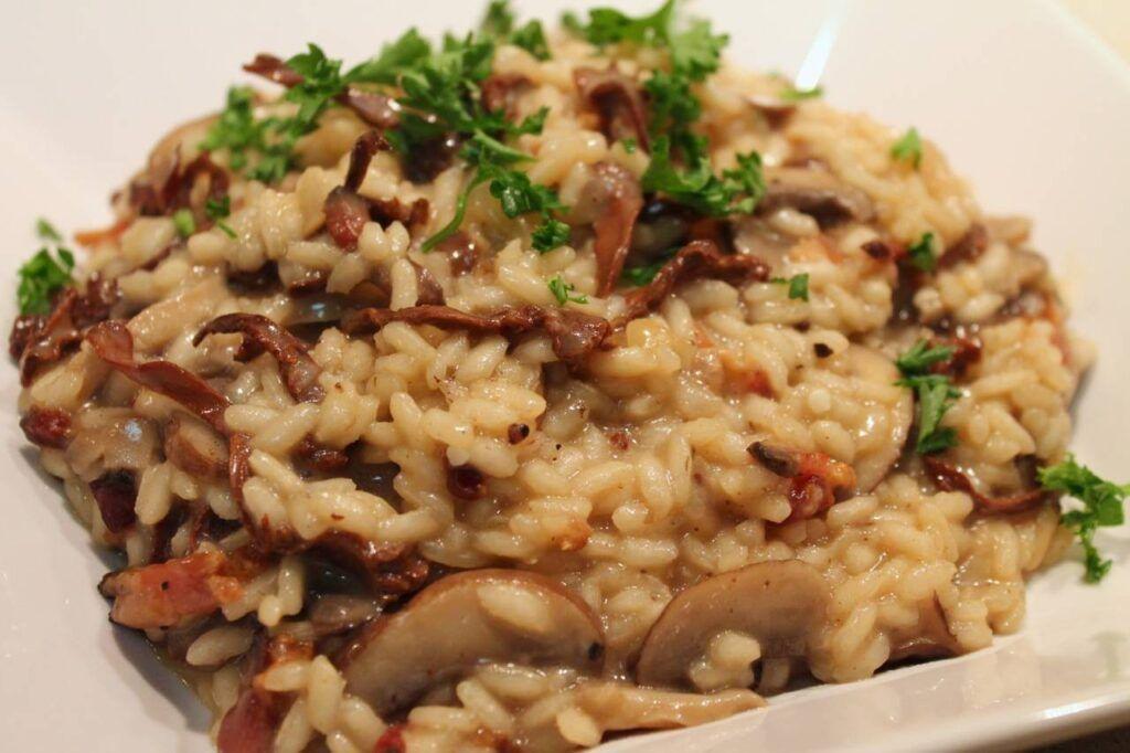 Risotto con Funghi Porcini,una ricetta sprint