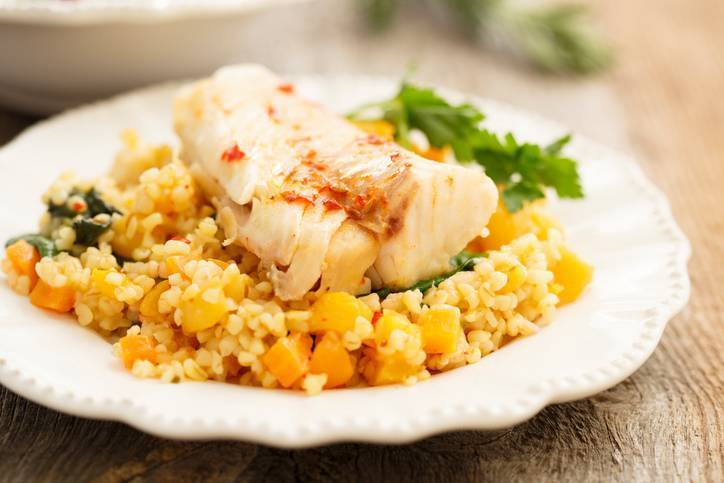 Insalata di riso al pesce