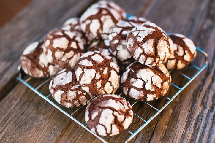 Biscottini al cioccolato e vaniglia