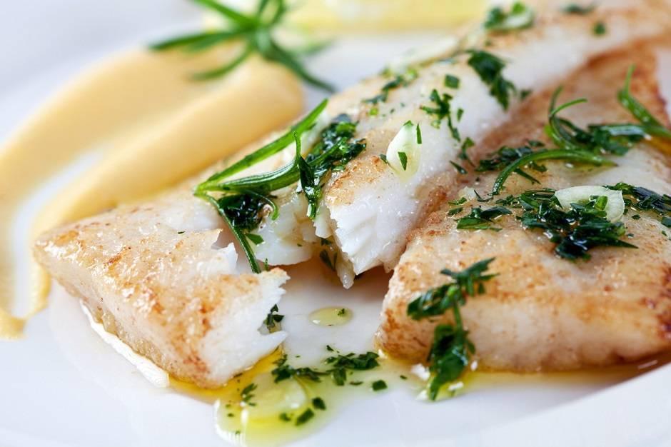 Filetti di pesce in salsa