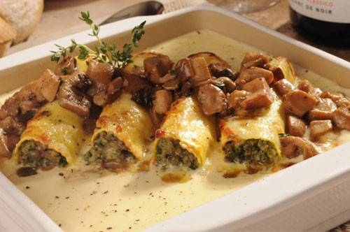 cannelloni in bianco