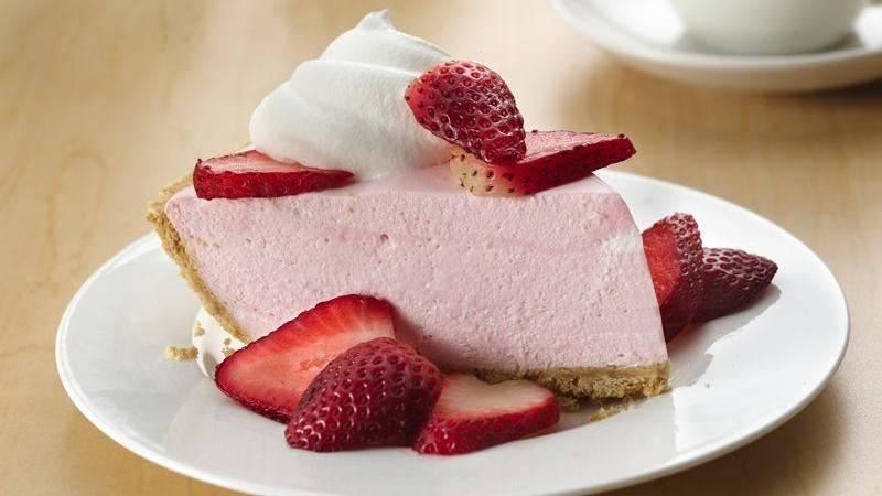 cheesecake alla crema di fragole