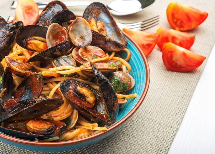 linguine ai frutti di mare