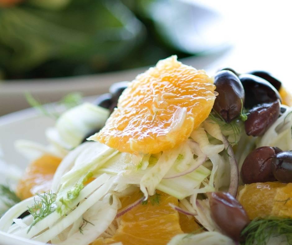 Insalata di arance alla siciliana