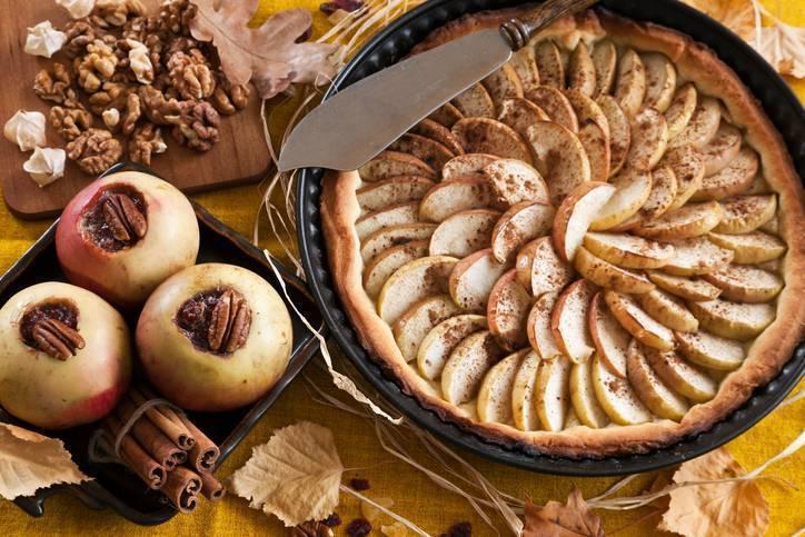 crostata di mele all'inglese