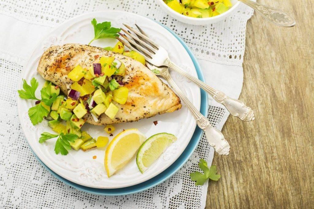 Pollo con Ananas e Limone: