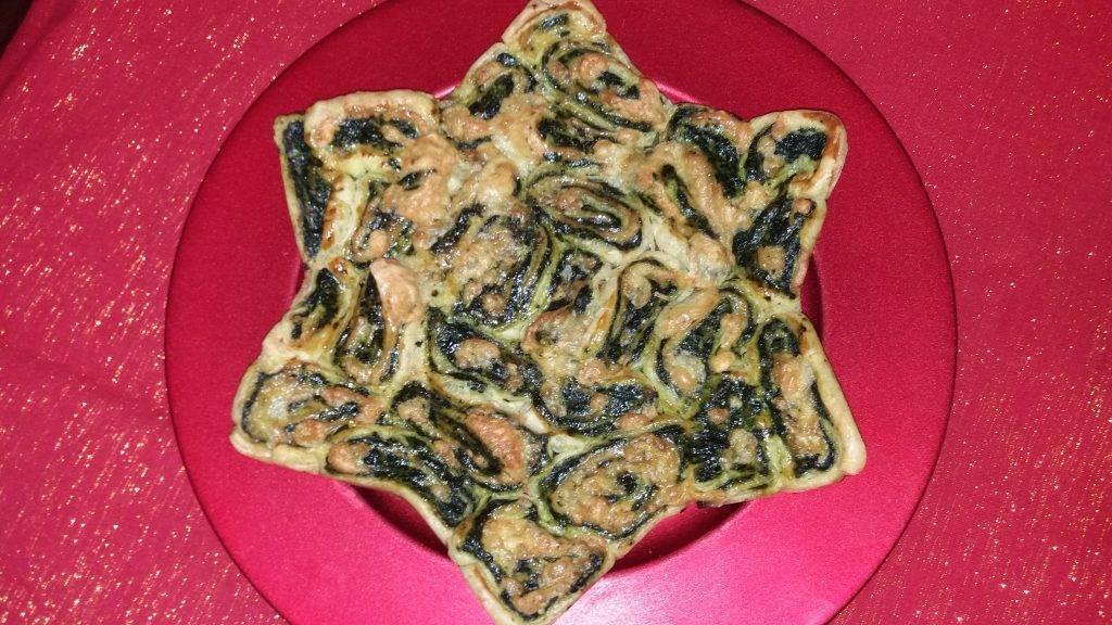 rustico di sfoglia agli spinaci