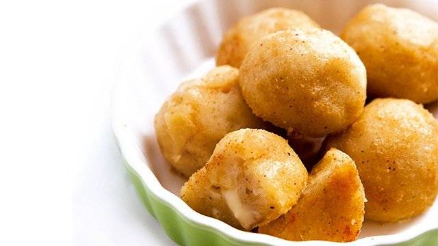 bocconcini di patate e formaggio