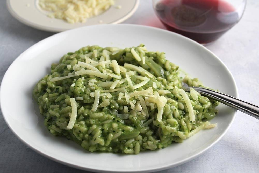 riso agli spinaci