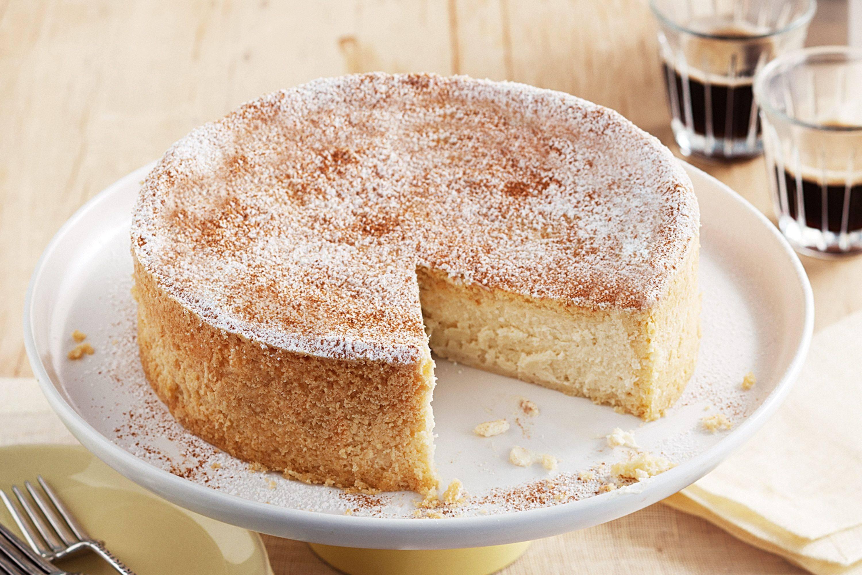 Ricotta Sponge Cake