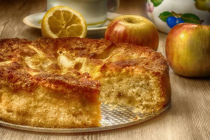 torta di mele al microonde sofficissima