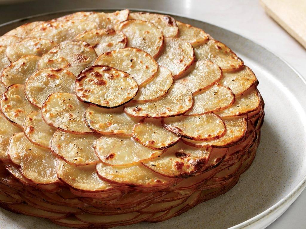 torta di patate al gratin