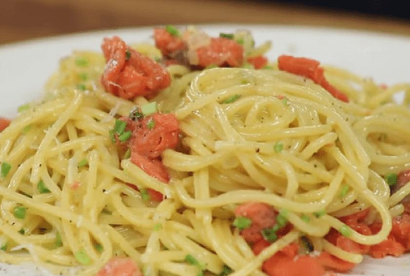 Spaghetti con Carbonara