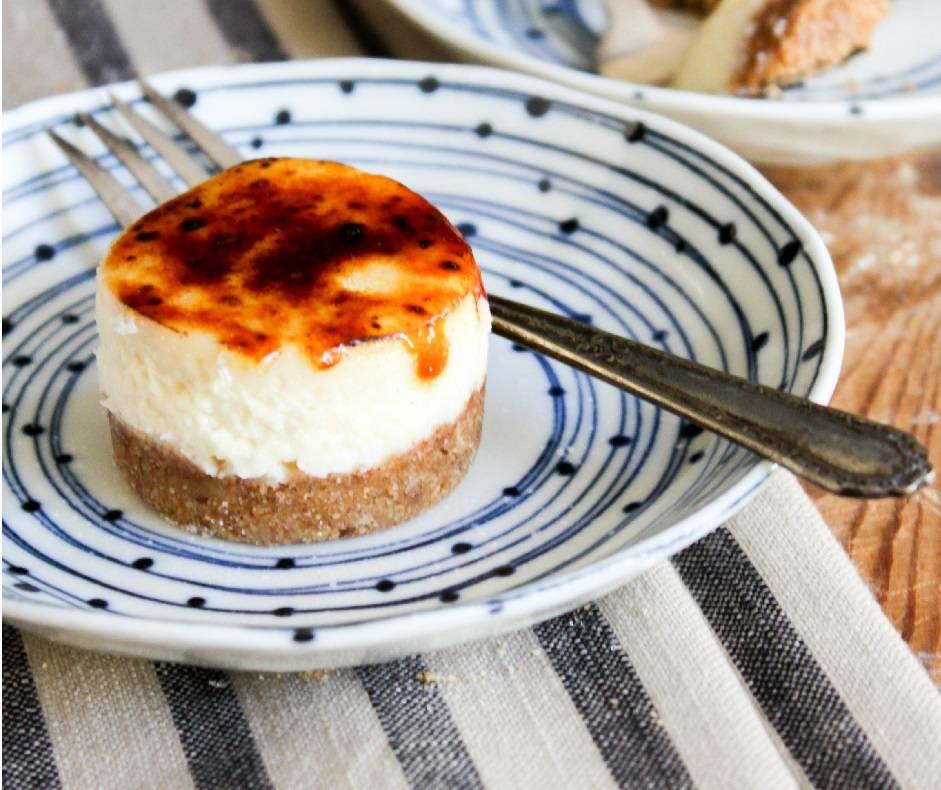 Cheesecake alla creme brulèe