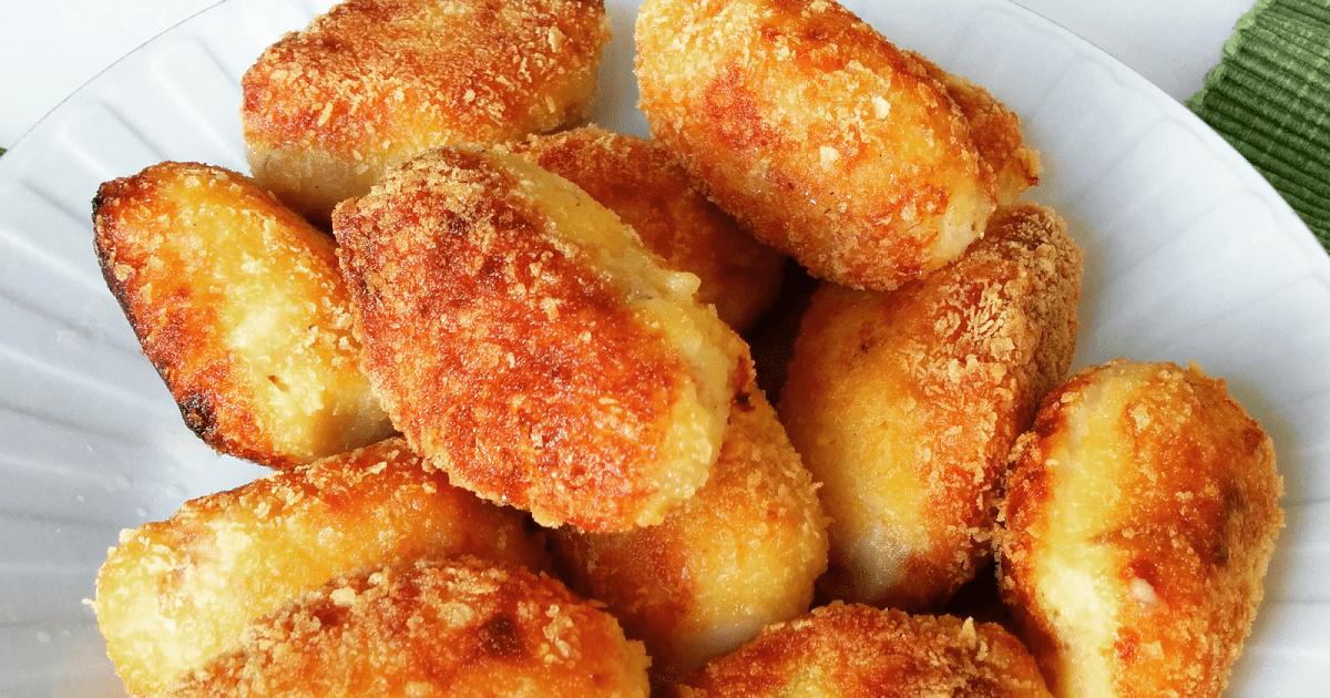 Crocchette di patate farcite con provola e speck