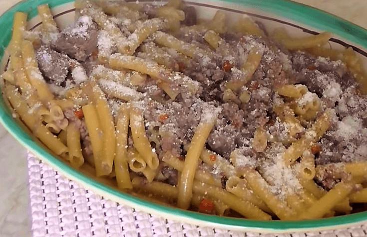Pasta alla Genovese Napoletana