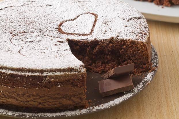 torta al cioccolato in cinque minuit