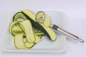 zucchine al forno con prosciutto e scamorza