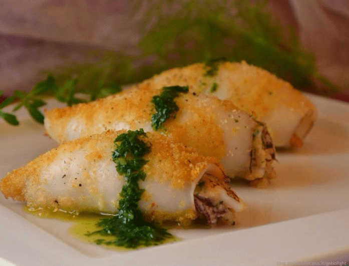 calamaro ripieno alla siciliana