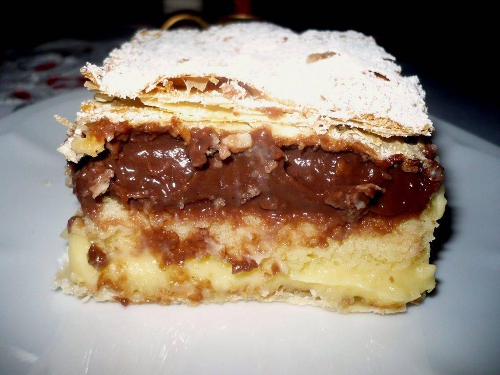 torta diplomatica al cioccolato