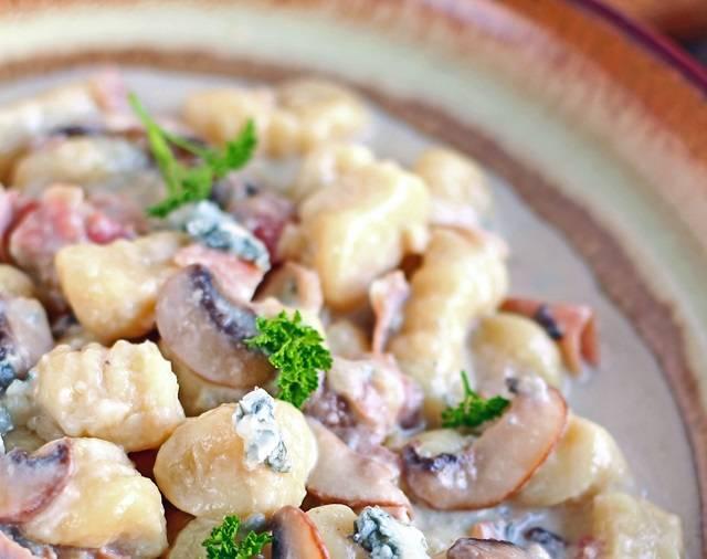 Gnocchi Gorgonzola e Prosciutto