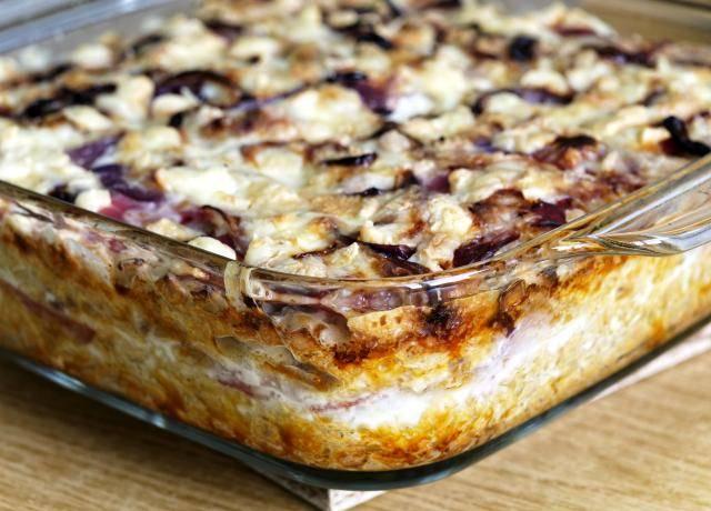 lasagna al radicchio
