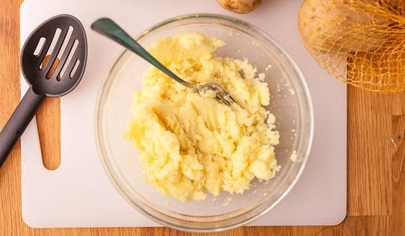 polpette di patate saporite