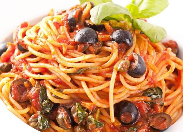 pasta olive e capperi