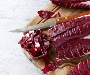 lasagne con radicchio salsiccia e provola
