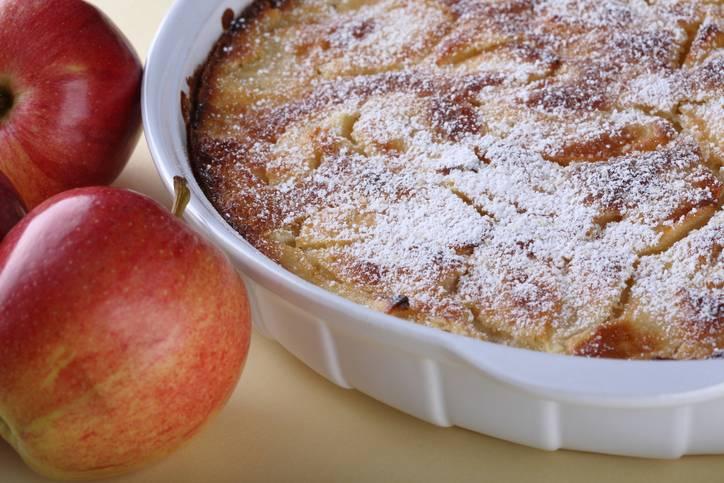 torta di mele light