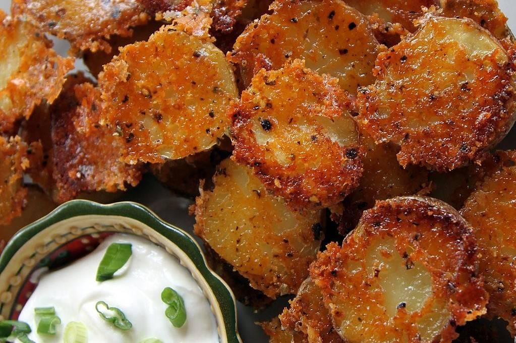 patate croccanti con parmigiano