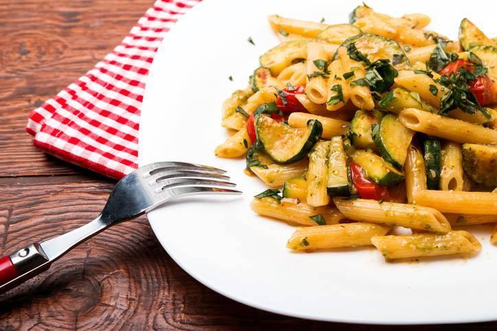 Pasta Pomodorini e Zucchine