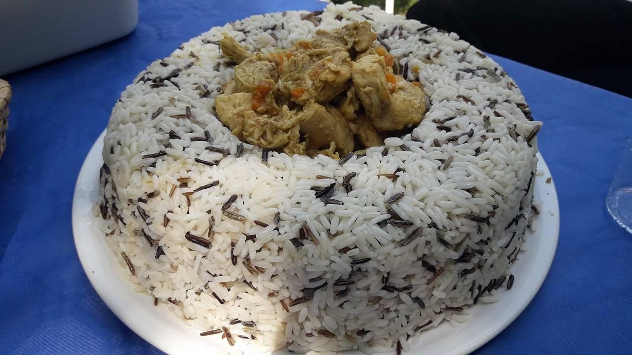 Pollo al Curry con Riso Long & Wild