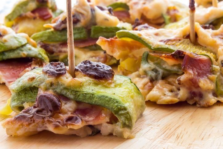 Rotolini di Zucchine e Pancetta al Forno