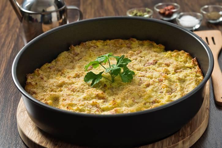 Sformato Abruzzese di Patate e Salsicce