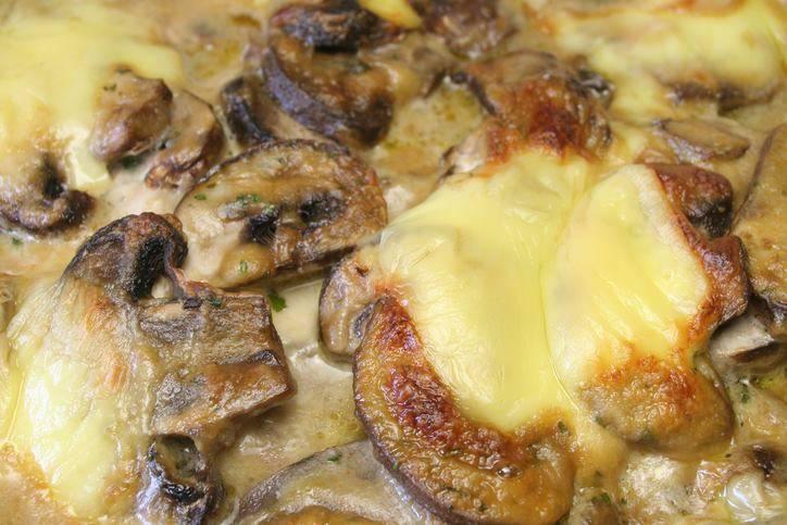 soufflè ai funghi