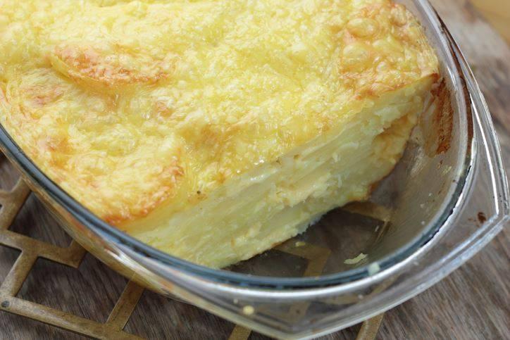 Torta di Patate a Strati con Mozzarella