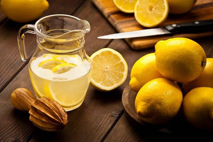 acqua e limone ricetta e benefici