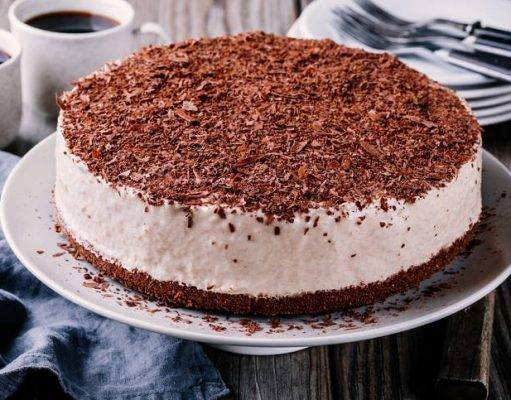 Cheesecake Ricotta e Cioccolato