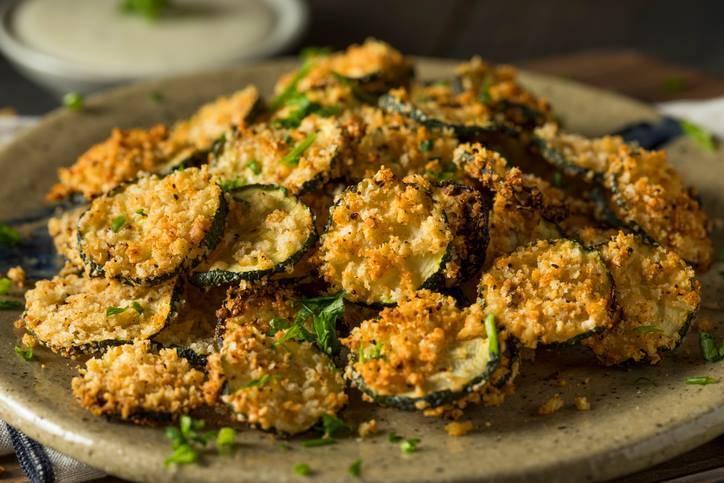 le zucchine al pangrattato
