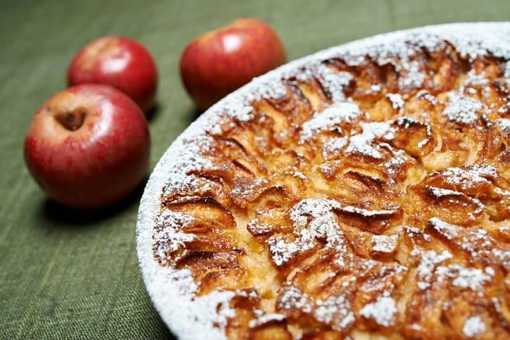 torta di mele integrale senza uova