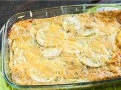 Zucchine al Forno con Mozzarella e Parmigiano