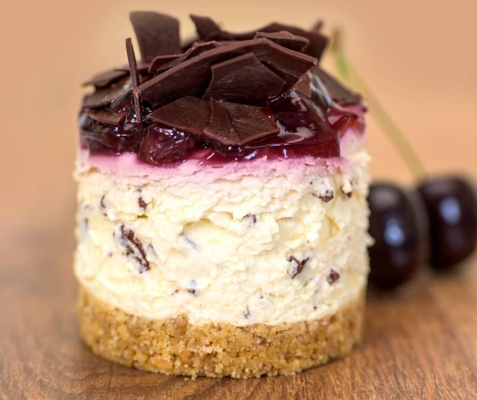 Cheesecake Ciliegie e Cioccolato