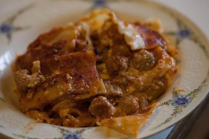 Lasagne con Polpettine