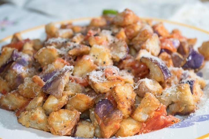 Melanzane Stufate con Parmigiano