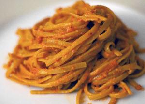 pasta con pesto alla siciliana
