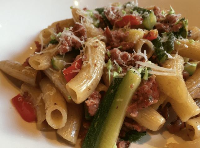 Pasta Salsiccia e Verdure