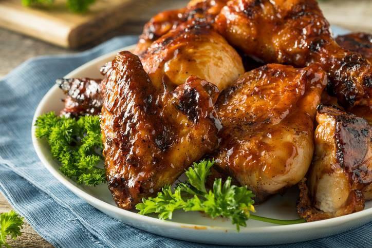 Pollo con Salsa Barbecue