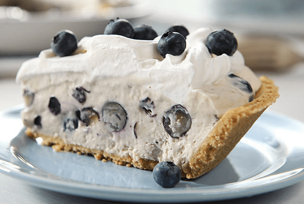 torta fredda allo yogurt e ribes